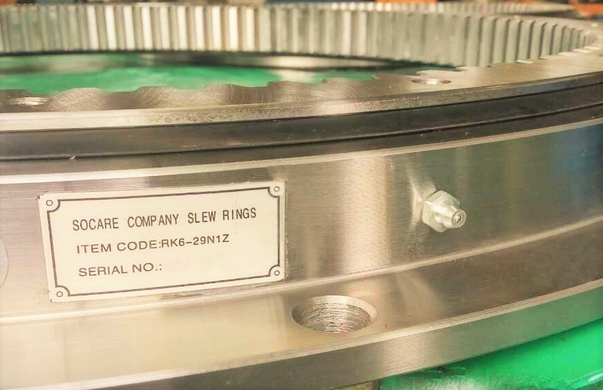 Single Row Four-point Contact Ball Slew Rings with Flange(SCB-RK Series)